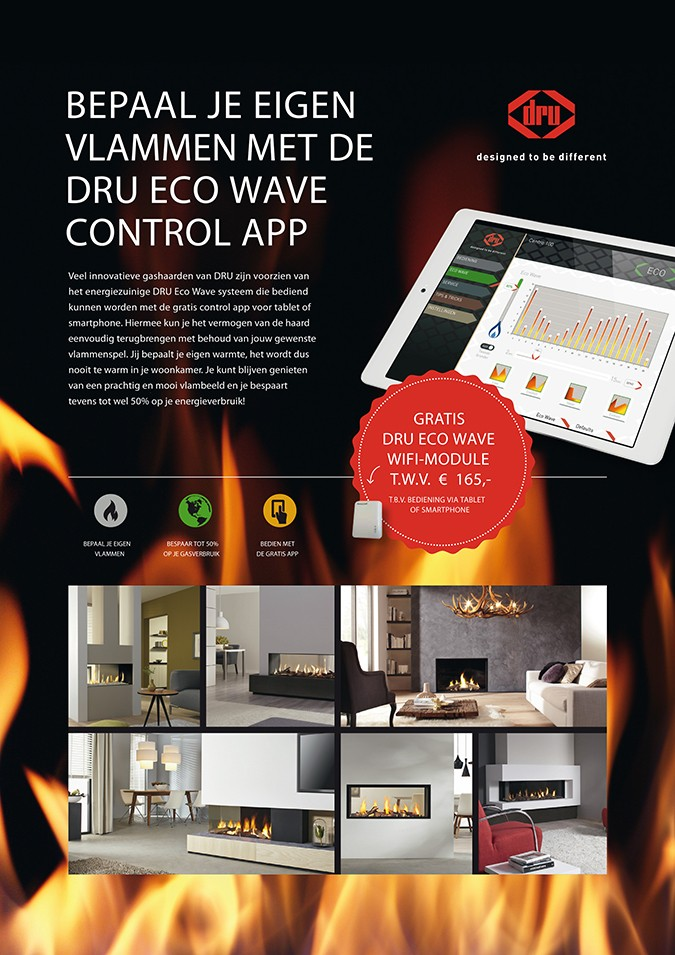 DRU Eco Wave control app